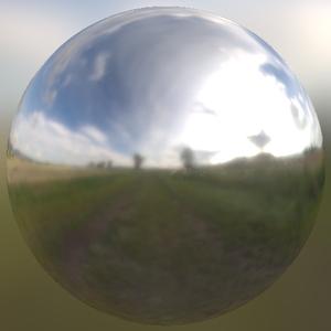 Auvergne field sphere