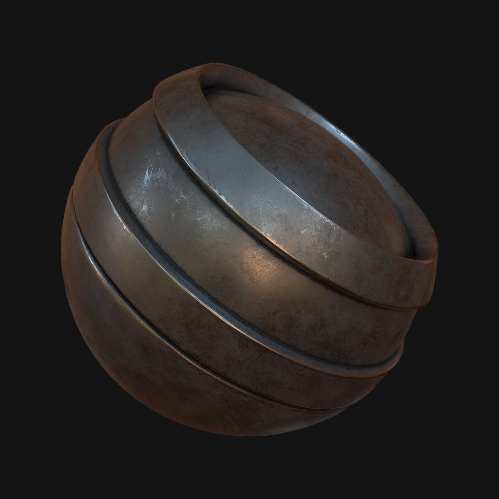 Substance designer metal