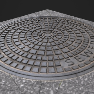Manhole cover wip05.4