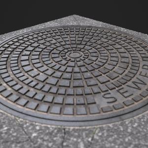 Manhole cover wip05.4