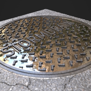 Manhole cover wip05.7