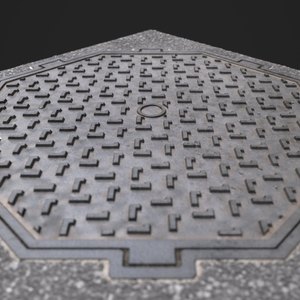 Manhole cover wip05.8