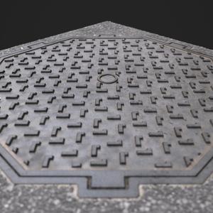 Manhole cover wip05.8