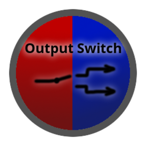 Icon outputswitch