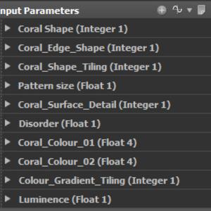 Coral adjustments
