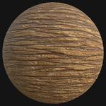 Shiny wood