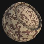 Fabric military dbdu