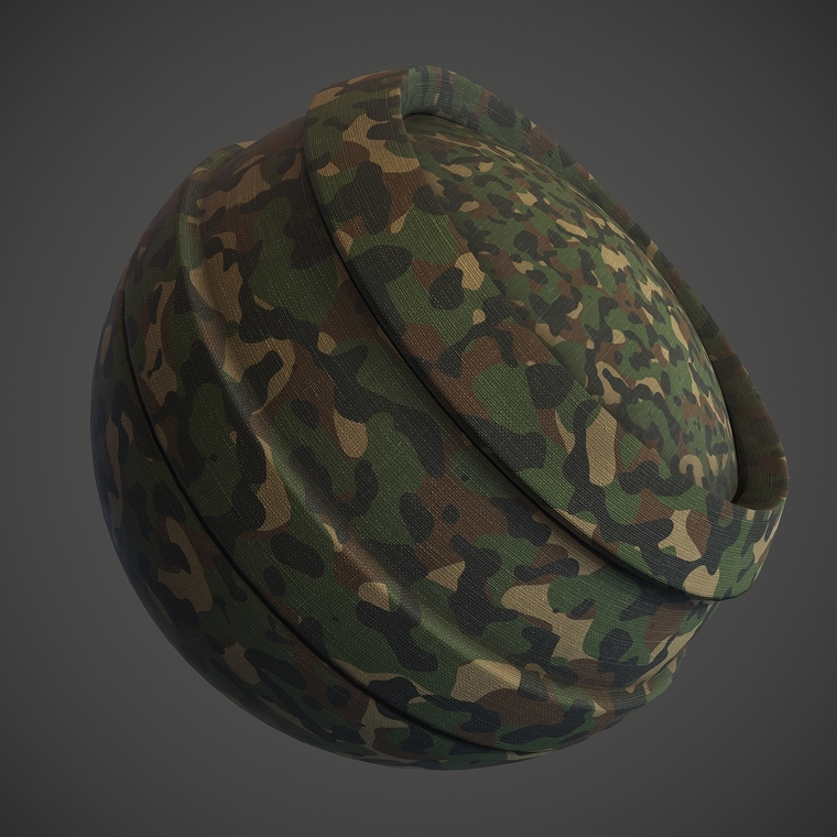 Fabric military woodland preview