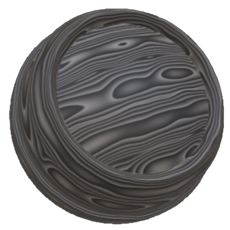 Wood rings icon