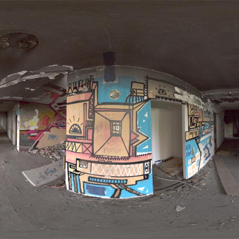 Thumb abandoned sanatorium staircase