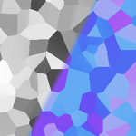 Greyscale to facets