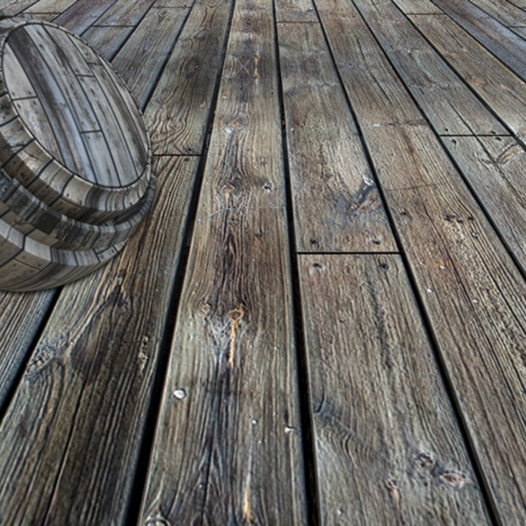 Deck boards smartmaterial