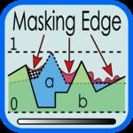 Masking edge