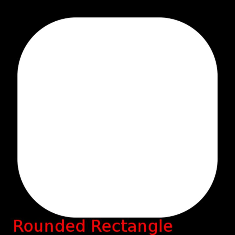 Shapes rrect