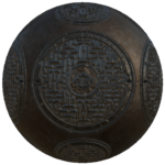 Round manhole