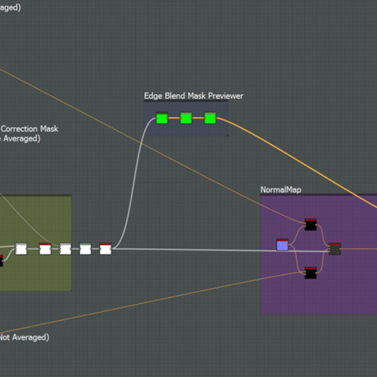 Ext blend fixnormalmap node graph