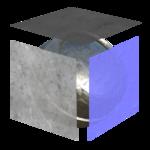 Triplanar material icon
