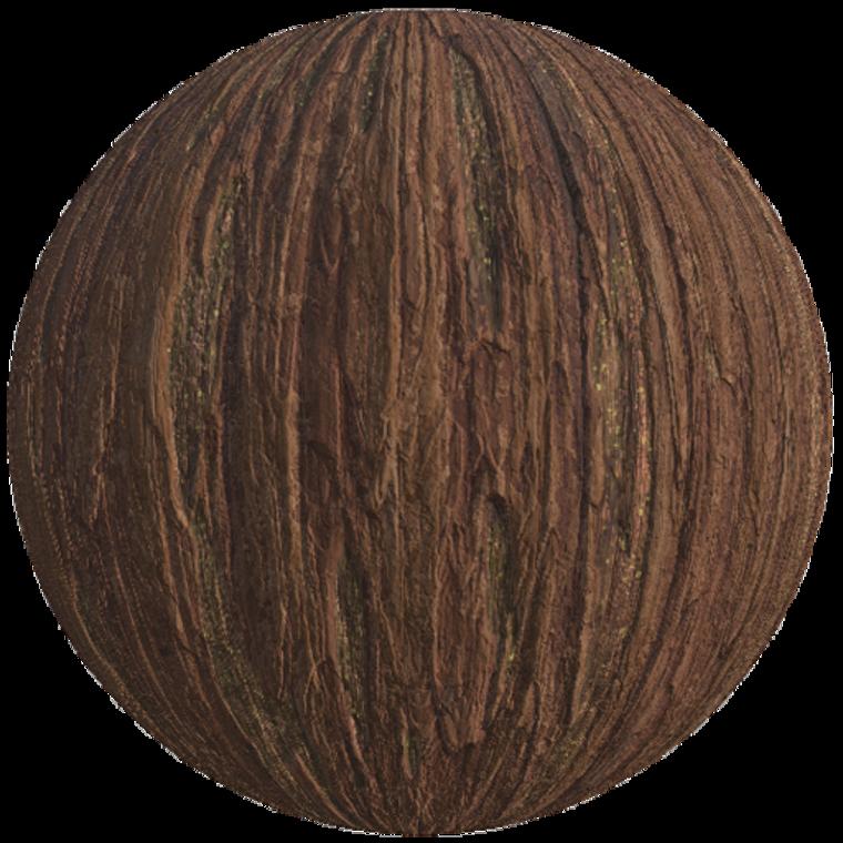Redwood bark