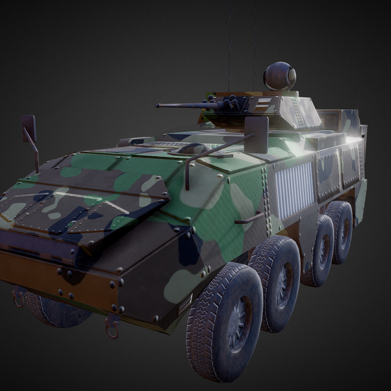 Heavy army vehicle %28piranha%29