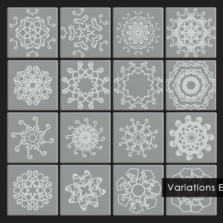 Sms geometric pattern substance material variations example
