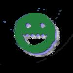 Lucci material directional warp logo
