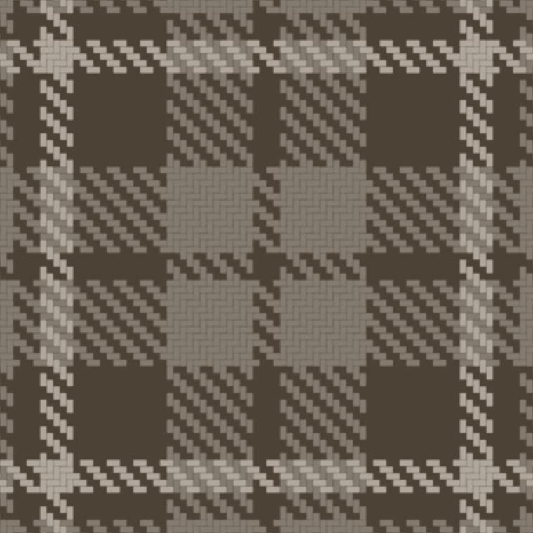 Tartan fabric diffuse
