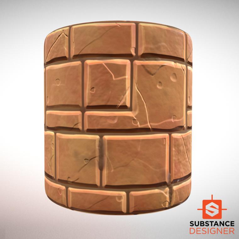 Desert bricks