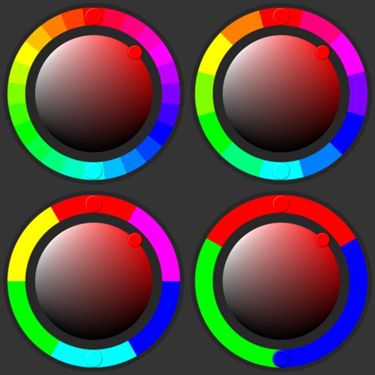 Colorwheel hsv