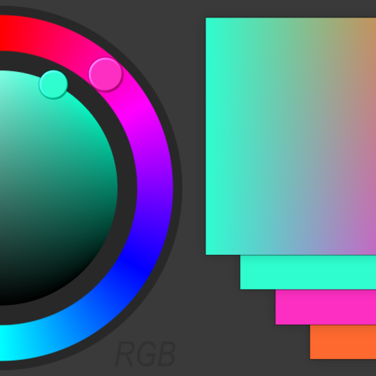 Colorwheel outputs