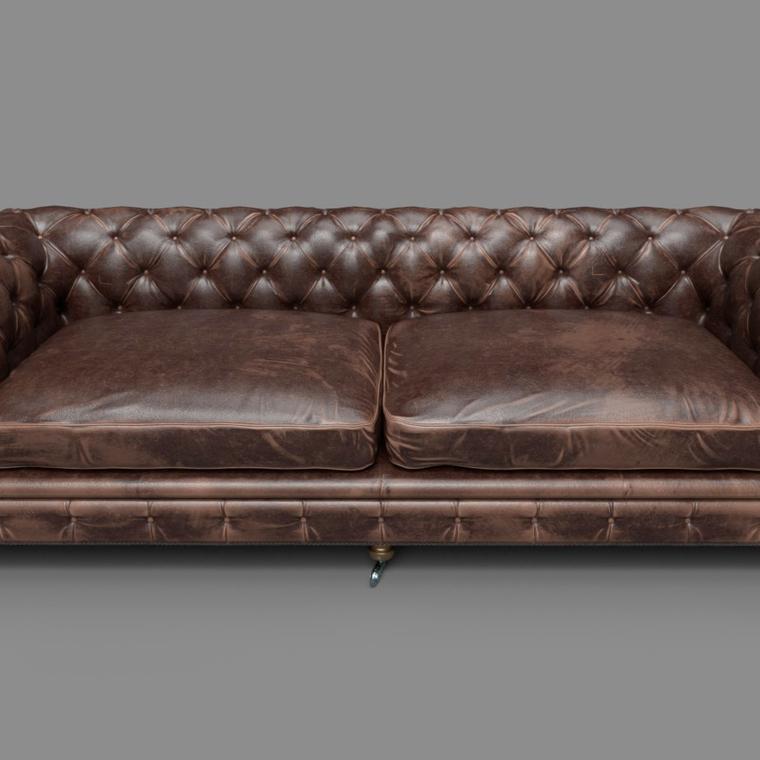 Leather sofa upload