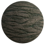Grassy stone