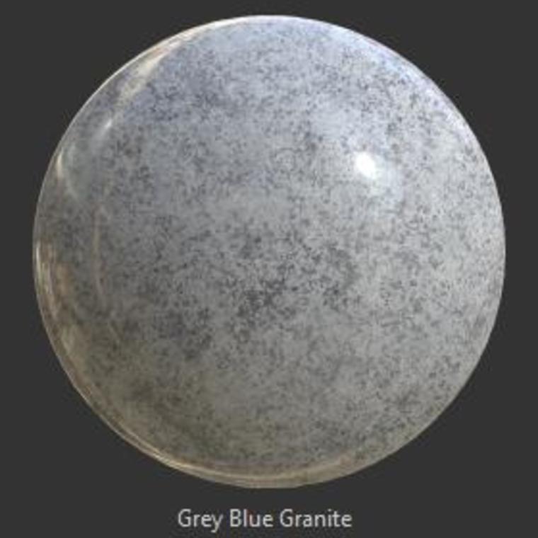 Granite grey blue