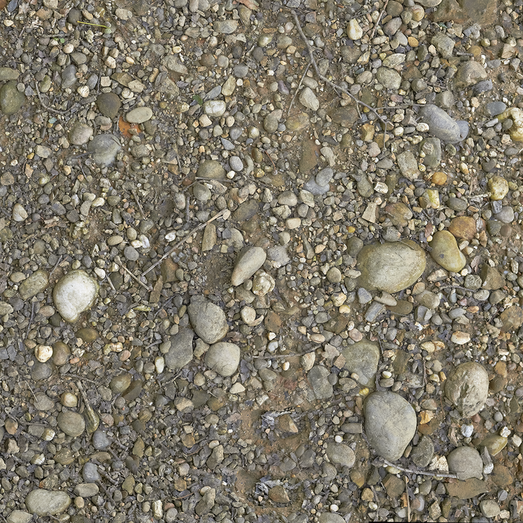 Gravel texture 1k