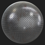 Pbr metal floor rusted texture 0001