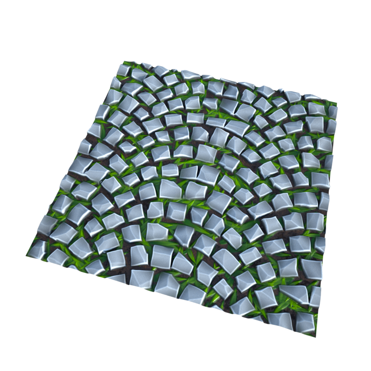 Stylized arc pavement render1