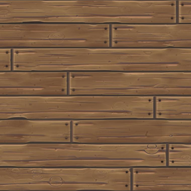 Wood stilized plank 06