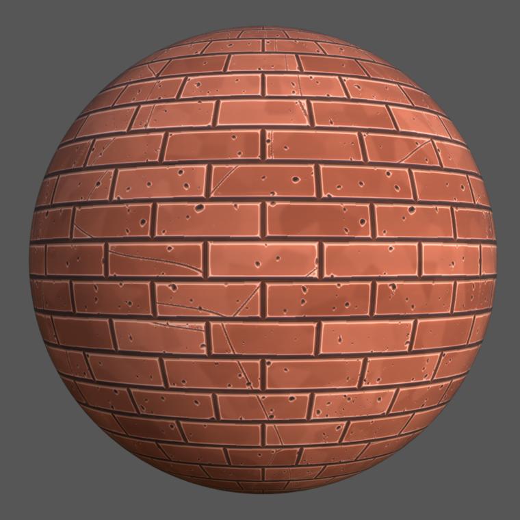 Stilized brick