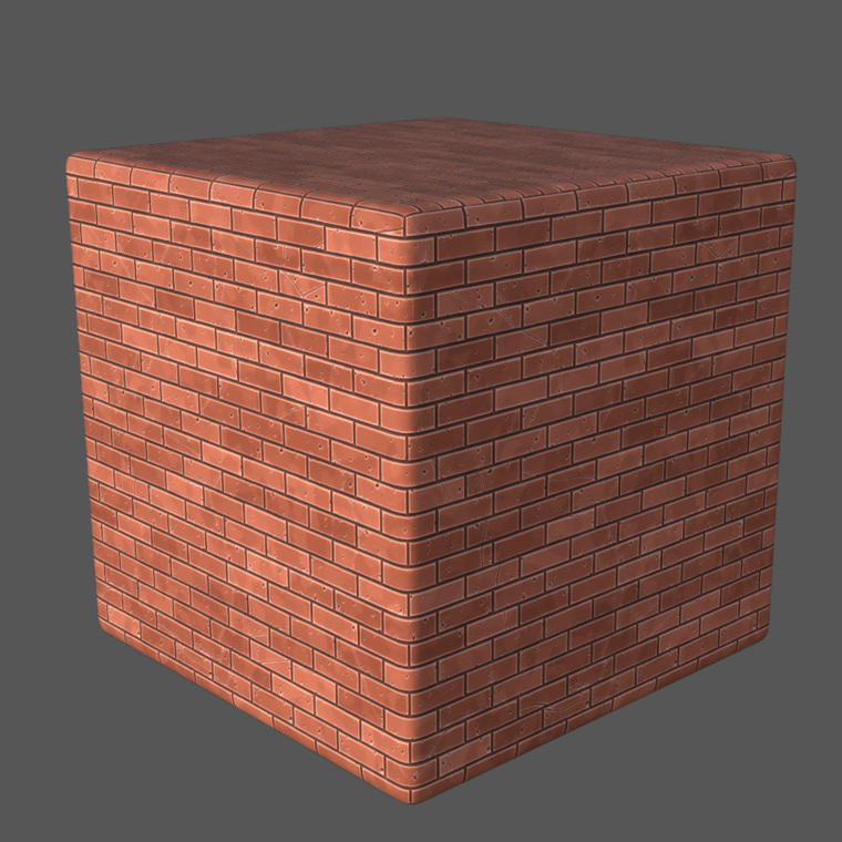 Stilized brick 02