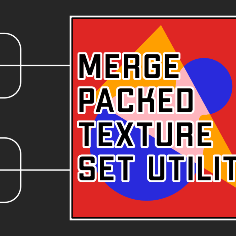 Merge packed texture set utility