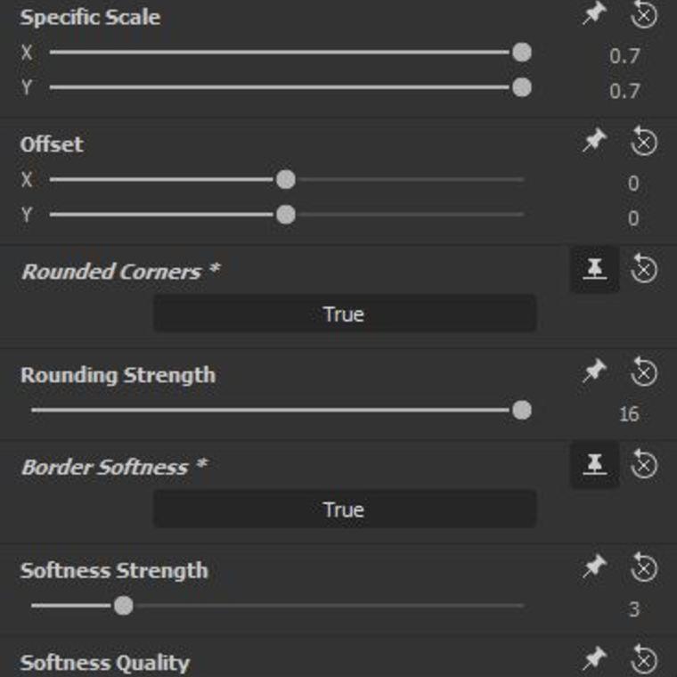 Panel builder shp options