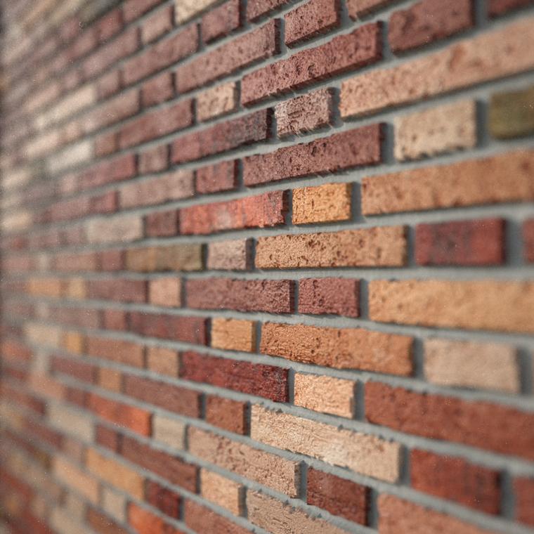 Bricks render 01