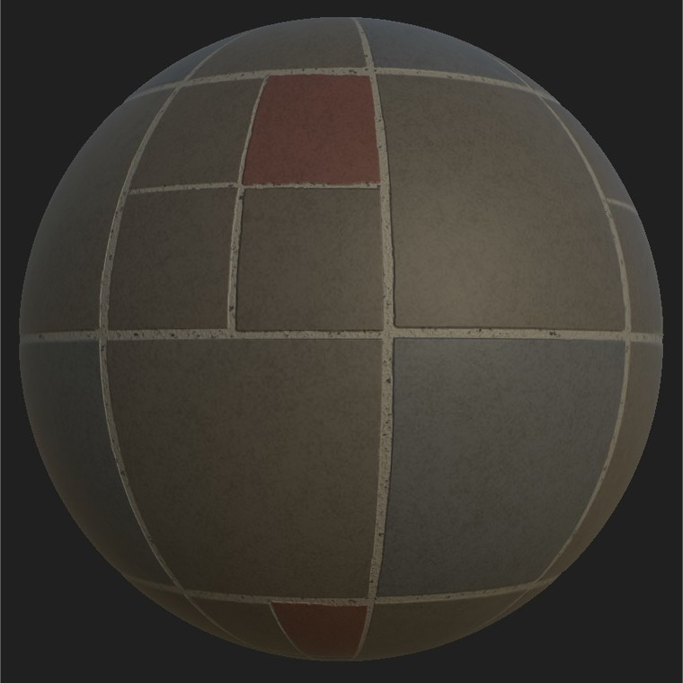 Substance player 2019.1   urban tile square pat.sbsar