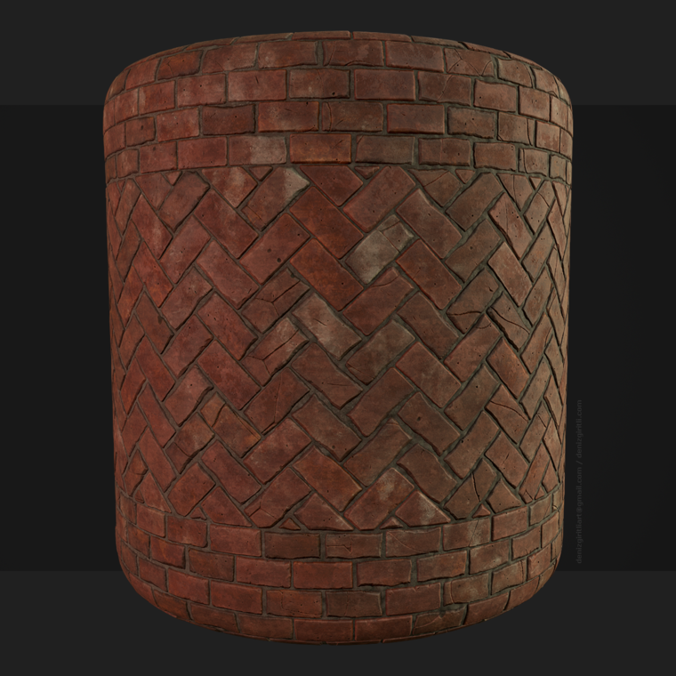 Brick pavement final render 01