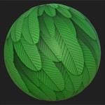 Substance player 2019.1   3dex stylized feathers.sbsar