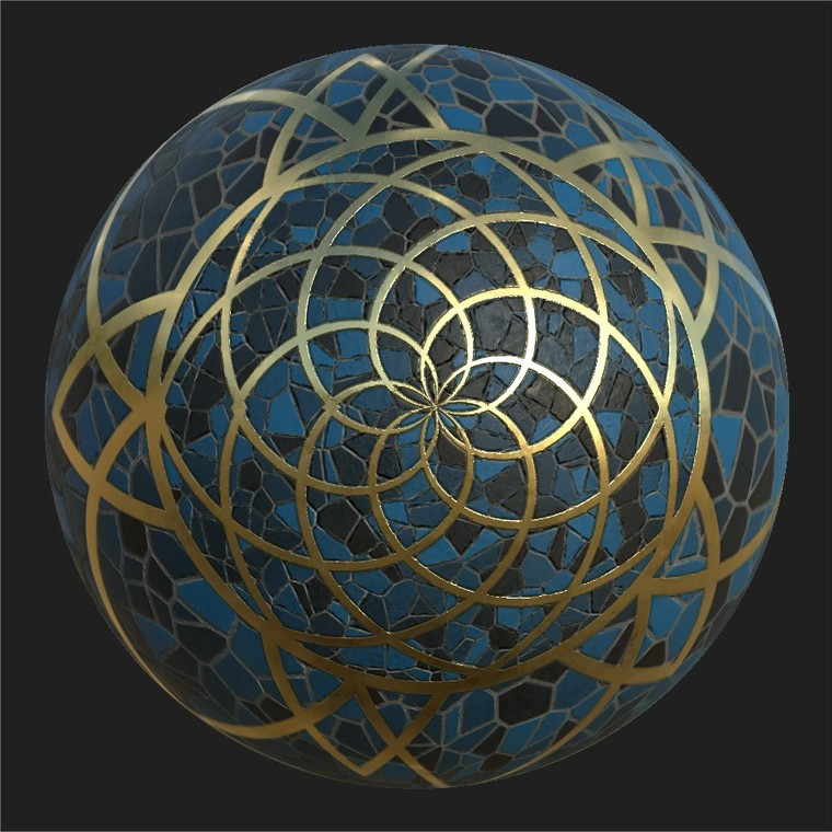 Substance player 2019.1   patternedtiles.sbsar