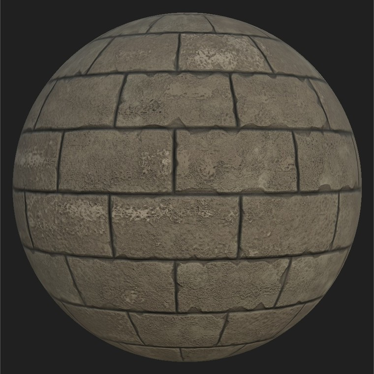 Substance player 2019.1   overtoun stone brick.sbsar