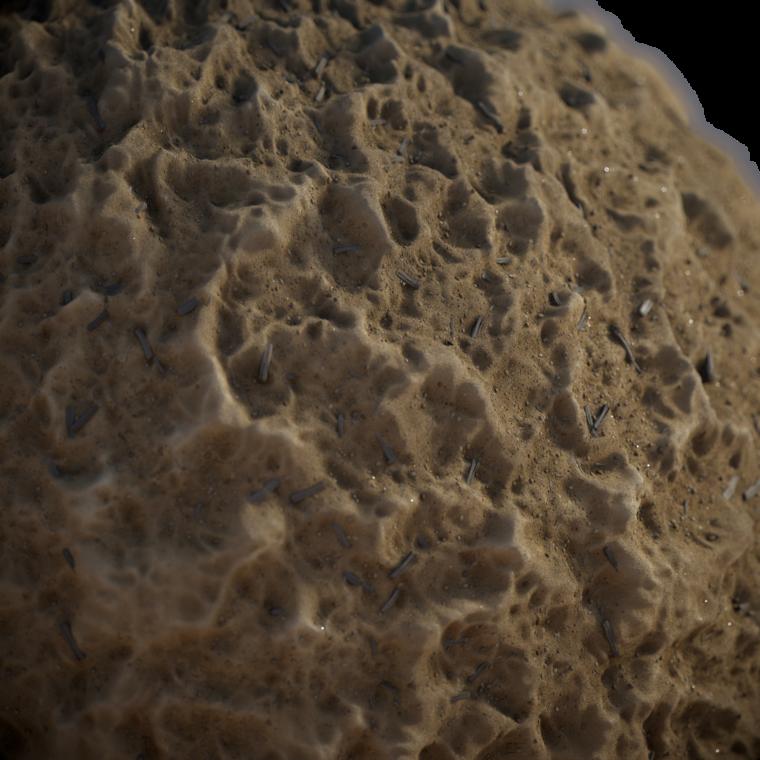 Sand render