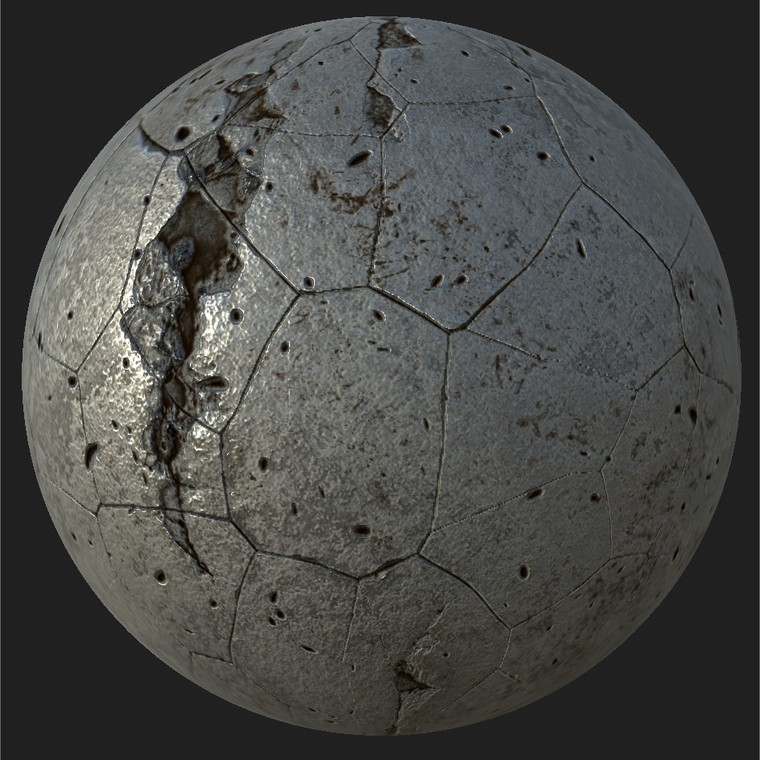 Substance player 2019.1   industrial concrete material.sbsar