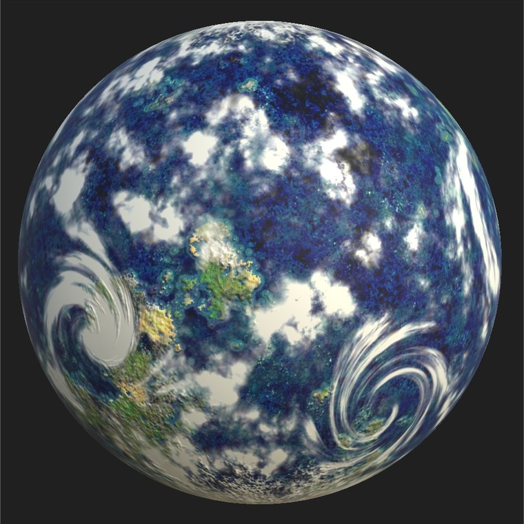 Substance player 2019.1   planet.sbsar