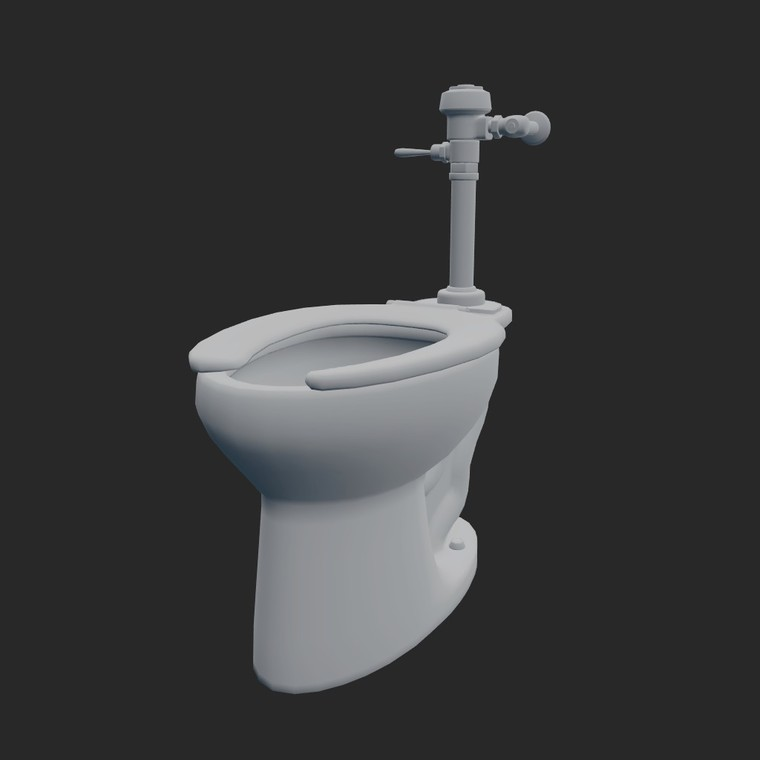 Toilet solid 1